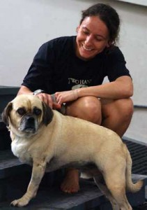 Kendra Metz Two Hands Four Paws Physical Therapist